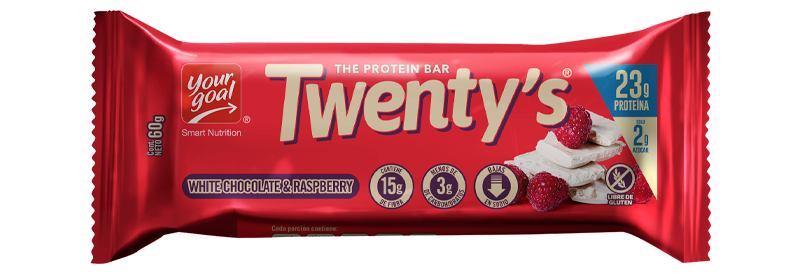 TWENTYS RASPBERRY & WHITE CHOCOLATE